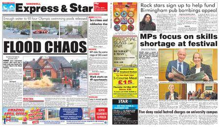 Express and Star Sandwell Edition – April 27, 2018