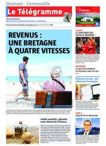Le Télégramme Ouest Cornouaille – 25 août 2019