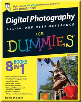 Digital Photography All-in-One Desk Reference For Dummies , Third Edition