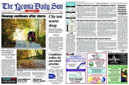 The Laconia Daily Sun – October 31, 2017