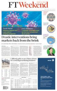Financial Times Middle East - March 21, 2020