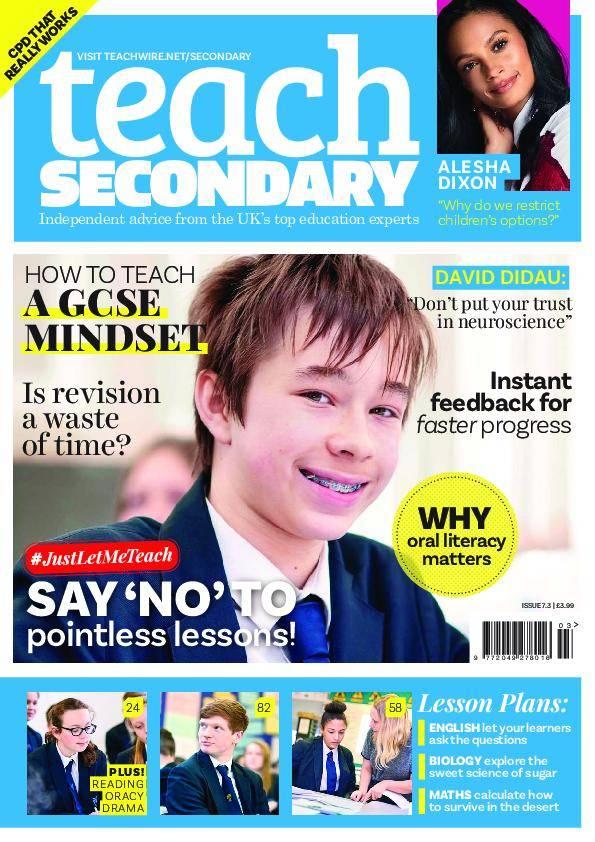 Teach Secondary – April 2018