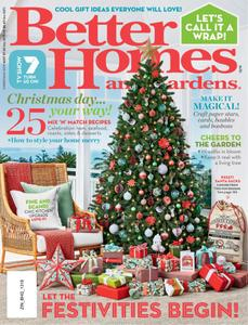 Better Homes and Gardens Australia - Christmas 2019
