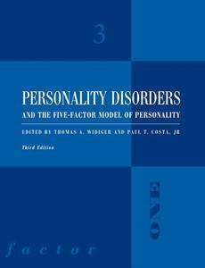 Personality Disorders and the Five-Factor Model of Personality, 3 edition