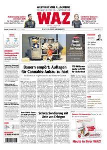 WAZ Westdeutsche Allgemeine Zeitung Oberhausen-Sterkrade - 16. Januar 2018