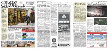 Gibraltar Chronicle – 27 November 2020
