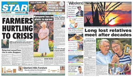 Shropshire Star Shrewsbury Edition – July 28, 2018