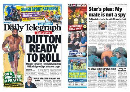 The Daily Telegraph (Sydney) – August 18, 2018