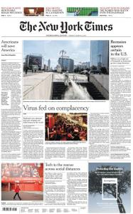 International New York Times - 23 March 2020