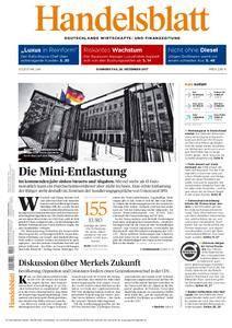 Handelsblatt - 28. Dezember 2017