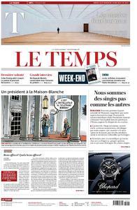 Le Temps - 18 mai 2019