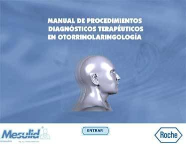 Manual Dx y Tx en Otorrinolaringología