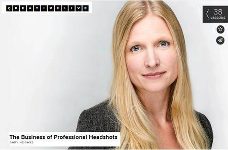 CreativeLive - The Business of Professional Headshots with Gary Hughes