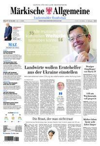 Märkische Allgemeine Luckenwalder Rundschau - 23. Mai 2018