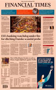 Financial Times Europe – 29 April 2019
