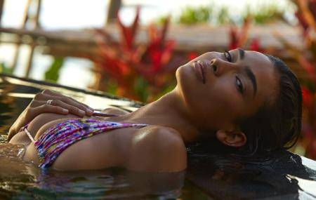 Kelly Gale by James Macari in Sumba Island for Sports Illustrated Swimsuit 2017 issue