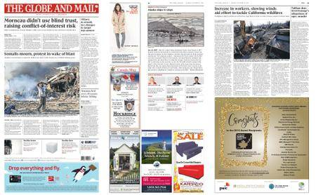 The Globe and Mail – October 16, 2017