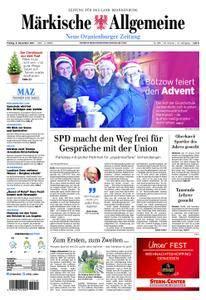Neue Oranienburger Zeitung - 08. Dezember 2017