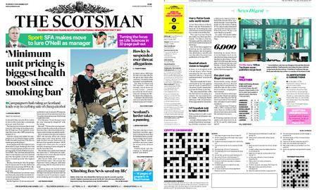 The Scotsman – November 16, 2017