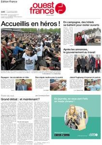 Ouest-France Édition France – 29 avril 2019