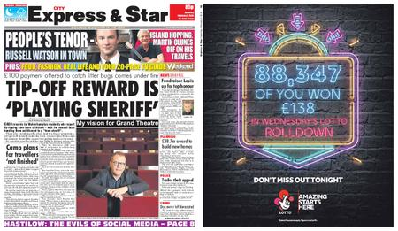 Express and Star City Edition – February 02, 2019