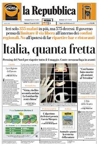 la Repubblica - 18 Aprile 2020