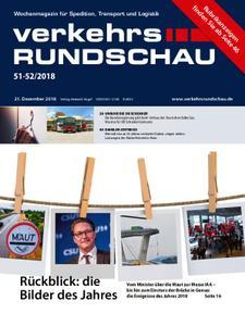 VerkehrsRundschau - 18. Dezember 2018