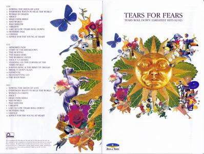 Tears For Fears - Tears Roll Down: Greatest Hits '82-'92 (2004) [2CD + DVD]