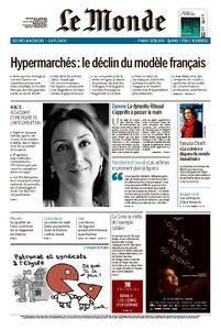 Le Monde du Mercredi 18 Octobre 2017