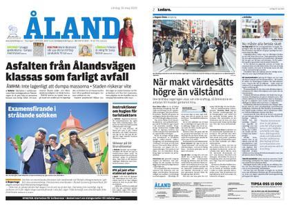Ålandstidningen – 30 maj 2020