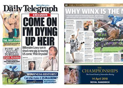 The Daily Telegraph (Sydney) – April 11, 2018