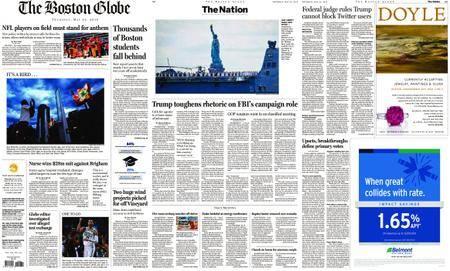 The Boston Globe – May 24, 2018