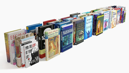 3D models - Collection of book