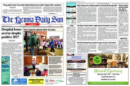 The Laconia Daily Sun – April 12, 2018