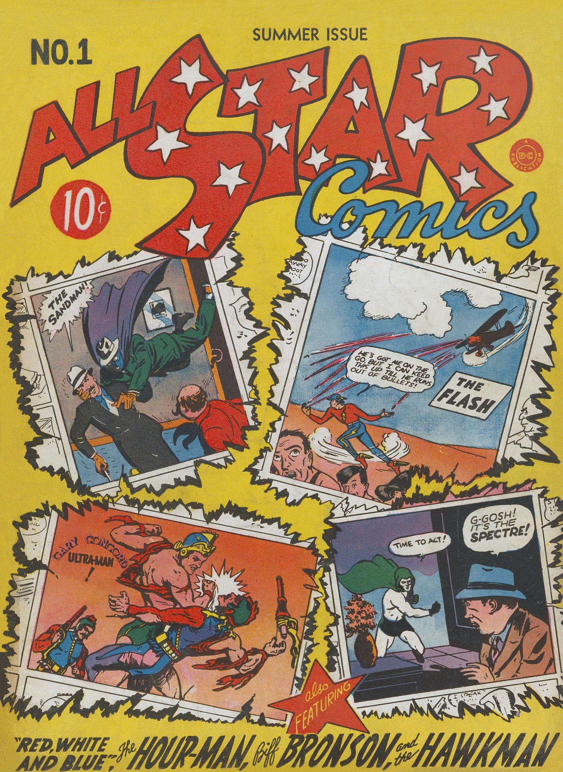 All-Star Comics 01 (DC) (1940 Summer)