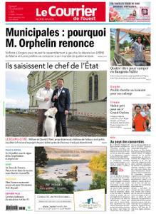 Le Courrier de l'Ouest Nord Anjou – 13 juillet 2019