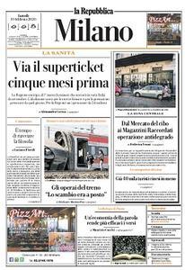la Repubblica Milano - 10 Febbraio 2020
