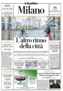 la Repubblica Milano - 21 Aprile 2020