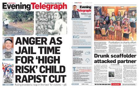 Evening Telegraph First Edition – November 19, 2019