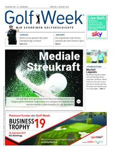 Golf Week – August 2019