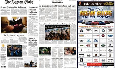 The Boston Globe – January 20, 2020