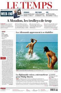 Le Temps - 10 août 2019