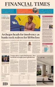 Financial Times Europe - May 6, 2021