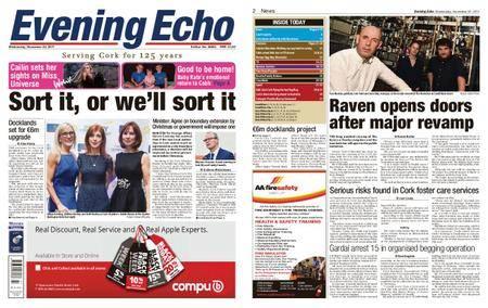 Evening Echo – November 22, 2017