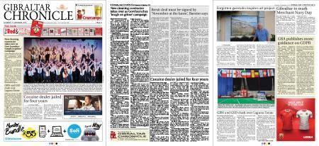 Gibraltar Chronicle – 01 September 2018