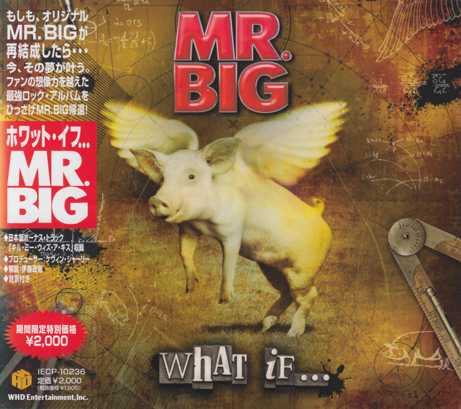 Mr. Big - What If... (2010) [Japanese Ed.]