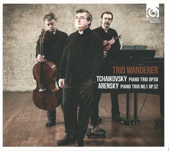 Trio Wanderer - Tchaikovsky: Piano Trio, Op. 50, Arensky: Piano Trio No. 1, Op. 32 (2013) (Repost)