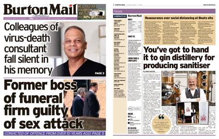 Burton Mail – March 31, 2020