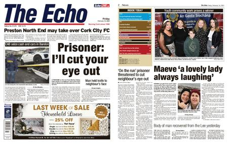 Evening Echo – February 14, 2020