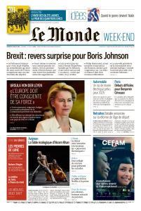 Le Monde du Samedi 20 Juillet 2019